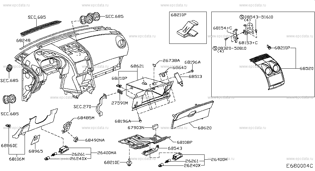 labeled diagram of sports car