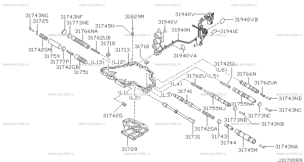 Nissan Frontier 3 3 2014 Specs And Images moreover Index additionally T9501222 Location speed sensor pt cruiser 03 also Transmission Solenoid together with RepairGuideContent. on nissan maxima transmission valve body